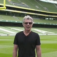 #jonbonjovi #jonbonjoviforever Jon Bon Jovi Announces Special Olympics Ireland as Official Charity of the Game