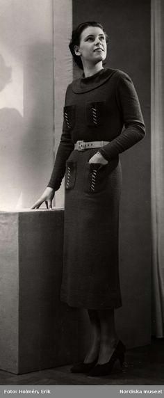 Dammode, 1935. Foto: Erik Holmén för Nordiska Kompaniet