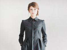 Entdecke lässige und festliche Kleider: E.L.E.N.A shirt dress made by Femkit via DaWanda.com