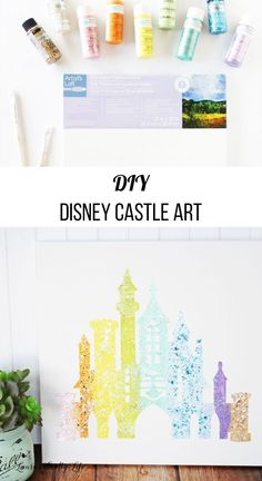 DIY Disney Castle Ar
