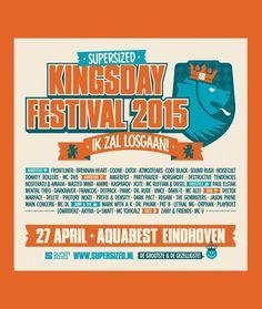 27 april #Koningsdag 2015 #supersized #kingsday #aquabest #eindhoven