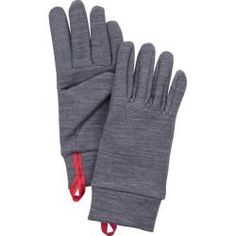 The Hestra® Touch Point Warmth Gloves – 5 Finger are soft, supple glove liners that insulate, dry quickly and stretch for optimal dexterity. Wool Gloves, Mens Gloves, Leather Gloves, Fleece Gloves, Tricot Fabric, Wool Fabric, Best Winter Gloves, Finger Image, Wool Insulation