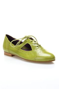 Liana Lace-Ups In Lime