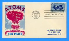 Scott 1070 Atoms for Peace First Day Cover by Cachet Craft/Boll
