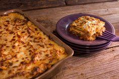 Lasagna with Meat Ragu.