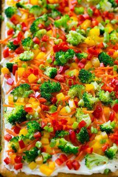 Cold Veggie Pizza, Veg Pizza, Healthy Pizza, Healthy Snacks, Crust Pizza, Pizza Dough, Healthy Eating, Healthy Recipe Videos, Pizza Recipes