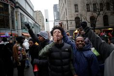 As some Chicagoans protest, others party. And the city's facade of stability is falling apart.