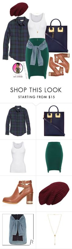 """""""Untitled #2589"""" by stylebydnicole ❤ liked on Polyvore featuring Madewell, Sophie Hulme, American Vintage, Poppy Lux, Topshop, River Island and Natalie B"""