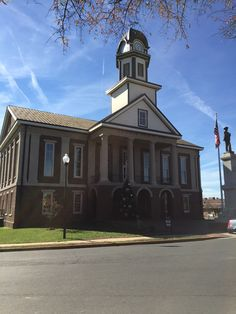 Old Chatham County Courthouse in Pittsboro, North Carolina. Paul Chandler November 2015.