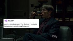 Text posts from Hannibal's office.