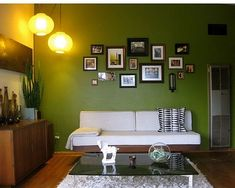 Kitchen Wall Paint Ideas | Green Wall Painting Ideas – Green Room Decorating Ideas | Interior ...