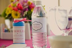 1st birthday party, itsy bitsy spider theme, alison eden,  pink, blue, table setting