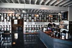 My absolute favorite place for coffee, wifi, and wah!? Motorcycles?! See See Motor Coffee Co. / Motorcycles & Stumptown Coffee in Portland, OR