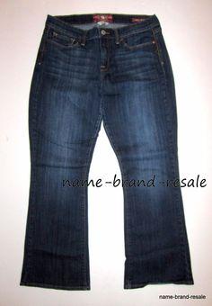 LUCKY BRAND SOFIA BOOT Jeans Womens 14 32 Ankle CURVY FIT Dark Denim Wash #LuckyBrand #SofiaBootCurvyFit