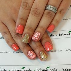 Instagram photo of gel nails by botanicnails