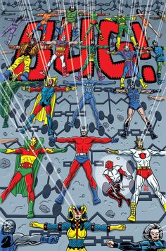 Young Animal line from DC Comics has had its fair share of battles with scheduling, with solicits for Doom Patrol cancelled earlier in the year, then Dc Comics Heroes, Arte Dc Comics, Dc Comic Books, Comic Book Covers, Iphone Wallpaper Kanye, Big Barda, Comic Art Community, Fourth World, New Gods
