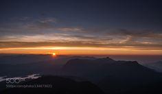 Rise - Pinned by Mak Khalaf Travel adams peakcloudslightmorningsri lankasunsunrisetravelwater by DVO82