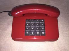 Vintage post phone BP 01 LX DDR Post Telefon kirsche retro