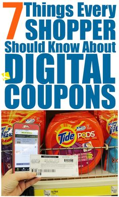 7 Things Every Shopper Should Know About Digital Coupons