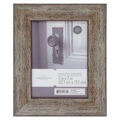 Threshold� Frame - Distressed Wood 5X7