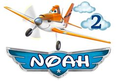 """Disney's Planes """"Dusty Crophopper""""  Personalized Kids T-shirt - With Name & Age"""
