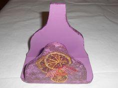 handmade napkin holder!