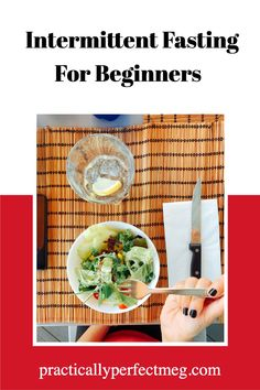 A complete guide to Intermittent Fasting for beginners. Everything you need to know from what YouTube channels to watch to what 16/8 is. #intermittentfasting #fasting #weightloss #health #fastforhealth #weightlosstips #weightlossprograms #fatlosstips # Health And Fitness Tips, Health Tips, Wellness Tips, Health And Wellness, Healthy Cooking, Healthy Eating, One Meal A Day, Lose Weight, Weight Loss