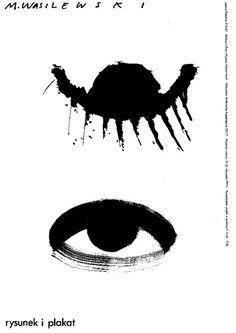 Mieczyslaw Wasilewski,  Rysunek i plakat plakat wystawowy, 1993