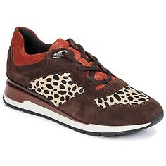 klassieke Geox shahira a dames sneakers (Bruin)