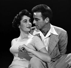 Elizabeth Taylor and Montgomery Clift 1950 | Taylor and Clift: Photos From the Set of 'A Place in the Sun' | LIFE.com