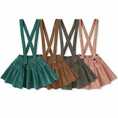 Buy 'HD KIDS – Corduroy Pleated Skirt with Suspenders' at YesStyle.com plus more South Korea items and get Free International Shipping on qualifying orders.
