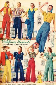 California Inspired! Chicago Mail Order Catalog, 1939
