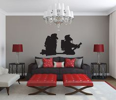 Firefighters Vinyl Wall Decal Sticker by LuckyLabradorsDecals