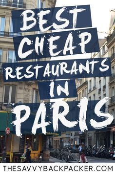 How to eat cheaply in Paris - over 40 of the best budget restaurants . - How to eat cheaply in Paris – Over 40 of the best budget restaurants … – Gastronomia Restaurant Bon, Paris Budget, Budget Friendly Honeymoons, Best Places In Italy, Hotel Des Invalides, Backpack Through Europe, Paris Restaurants, Good And Cheap, Best Budget