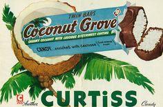 Le barrette al cocco di Curtiss, del 1951 (Classic Film)