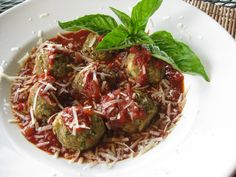 Eggplant Meatballs The roasted garlic adds such a good flavor!