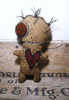 Handmade Voodoo Doll Voodoo Coralie by JunkerJane on Etsy