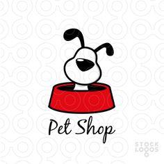 Logo: Pet Shop - Designer: Cross the Lime. A nod to Gromit Pet Shop, Dog Logo Design, Logo Luxury, Dog Branding, Dog Illustration, Cartoon Dog, Shop Logo, Animal Logo, Logo Design Inspiration