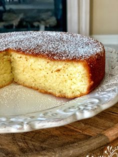 Ricotta Almond Gluten-free Cake - Recipes For Kids Gluten Free Almond Cake, Gluten Free Sweets, Gluten Free Diet, Gluten Free Cakes, Gluten Free Baking, Gluten Free Recipes, Gluten Free Pound Cake, Almond Flour Cakes, Almond Flour Recipes