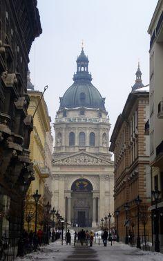 El domo de San Esteban, en #Budapest #Hungria