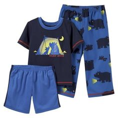 Just One You™Made by Carter's® Infant Toddler Boys' Pajama Set - Navy/Blue