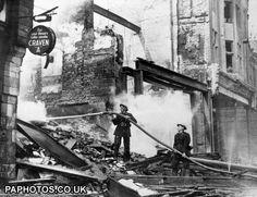 Bomb Damage - Exeter ... London Bombings, Exeter Devon, The Blitz, London House, Swansea, Luftwaffe, Portsmouth, British History, Life Is Like