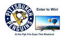 Click below to enter to win!  1st prize: 2 penguins Tix 6 rows from ice, 2nd Prize: 43 inch LED TV, 3rd Prize: $100 Gift Certificate to 1st Out Specialty