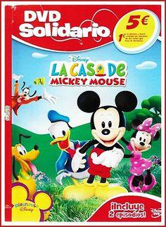 """Esta conocida serie invita a los pequeños a resolver problema, haciéndoles interacturar con sus palabras mágicas """"Meeska Mooska Mikey Mouse"""" Además no te olvides de bailar la pegadiza danza que cierra cada episodio, Mickey, Minnie, donald, Goofy, Daisy son los los protagonistas de estas entretenidas historis ¡Nunca antes las matemáticas o la lógica habían sido tan divertidas! Únete al optimista y entusiasta mickey y conoce todos los recovecos de La Casa de Mickey Mouse."""