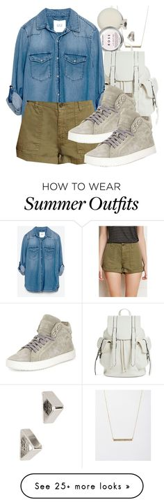 """Kol inspired summer job outfit"" by tvdstyleblog on Polyvore featuring ASOS, Mossimo, Zara, Forever 21 and rag & bone"