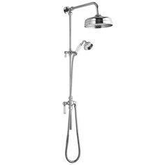 For a truly traditional bathroom look no further than the Hudson Reed Victorian Grand Rigid Riser Kit.  Oozing style, this smooth operating kit comes with a 8
