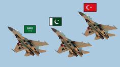 Scary İslam Power! (Turkey,Pakistan,Saudi Arabia) (new super power)