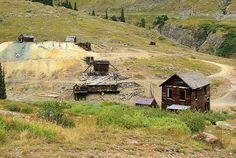 Animas Forks Mining Camp, Colorado, September 8, 2009 (pinned by haw-creek.com)