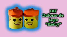 Mi nombre?   DIY   Dulcero de Lego