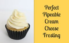 Pipeable Cream Cheese Frosting Recipe — Dishmaps